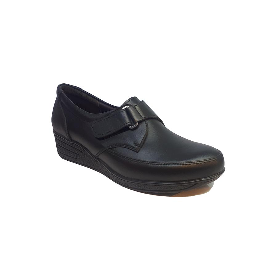 کفش طبی راحتی زنانه  چرم طبیعی دست دوز تبریز کد 348
