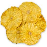آناناس خشک  100 گرم