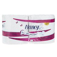 دستمال توالت 2 رول نانسی