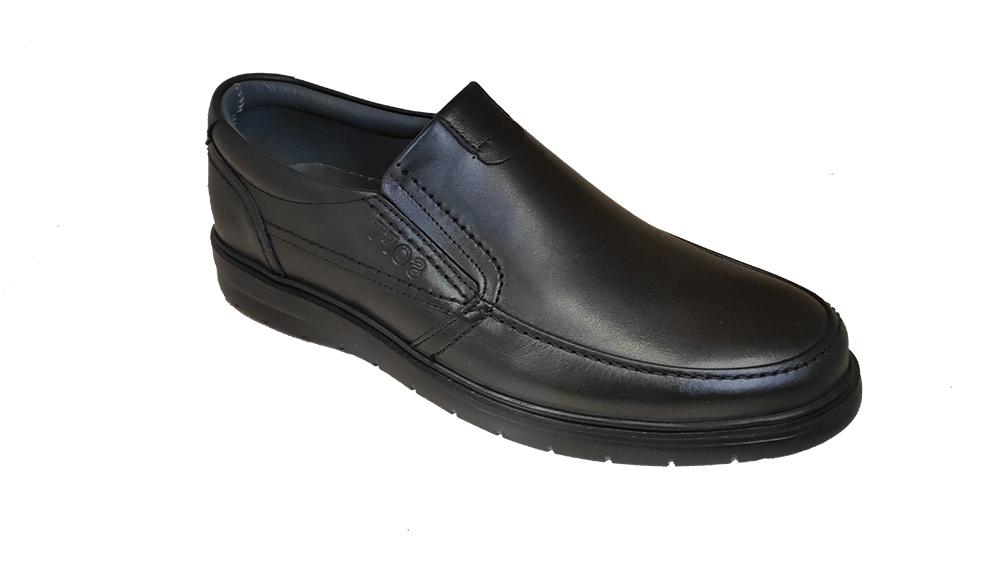 کفش راحتی مردانه چرم طبیعی گاوی تبریز کد 280