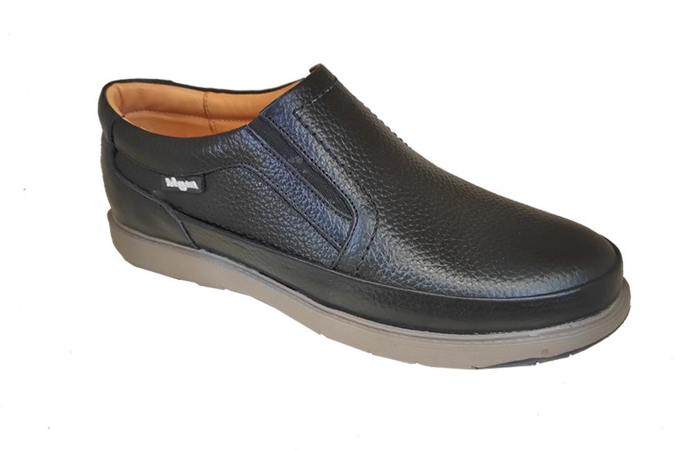 کفش راحتی مردانه چرم  طبیعی کد 293