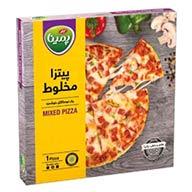 پیتزا نیمه آماده مخلوط پمینا