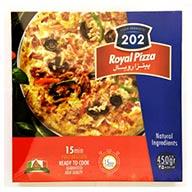 پیتزا نیمه آماده رویال 202