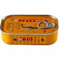 کنسرو ماهی ساردین فلفلی Rio