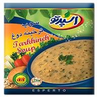 سوپ ترخینه دوغ اسپرتو