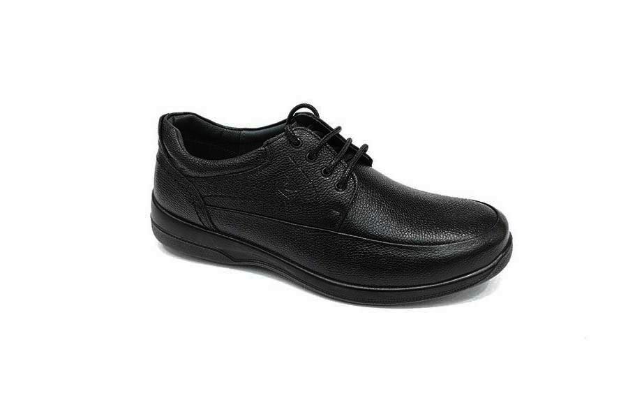 کفش  طبی راحتی مردانه چرم طبیعی تبریز کد 573
