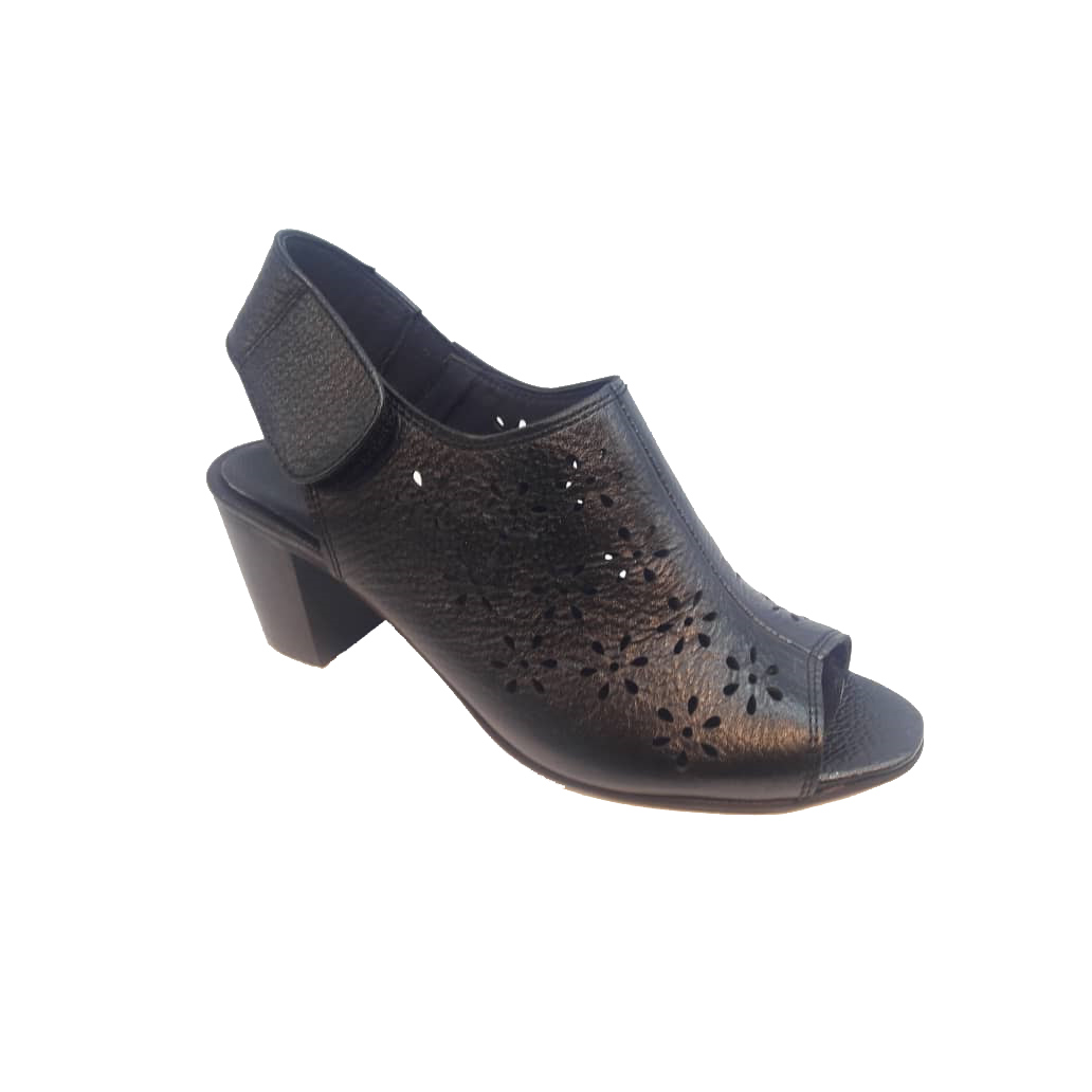 کفش تابستانی زنانه چرم طبیعی  تبریز کد 416