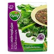 سبزی قورمه منجمد پمینا کاله
