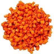 هویج پاک شده و خرد شده  ۱  کیلوگرمی