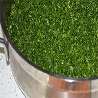 سبزی پاک شده و خرد شده  ۱   کیلو
