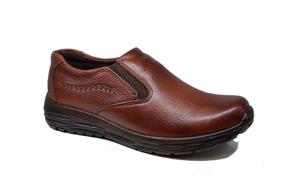 کفش راحتی مردانه تمام  چرم  کد 116