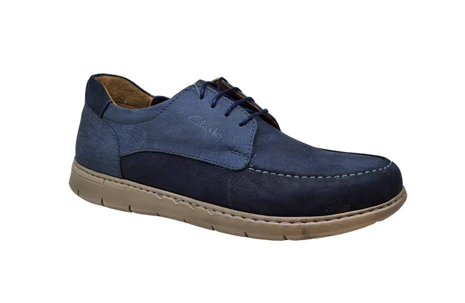 کفش راحتی مردانه چرم  طبیعی تبریز کد 135
