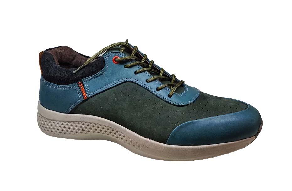 کفش اسپرت مردانه چرم طبیعی  کد 030
