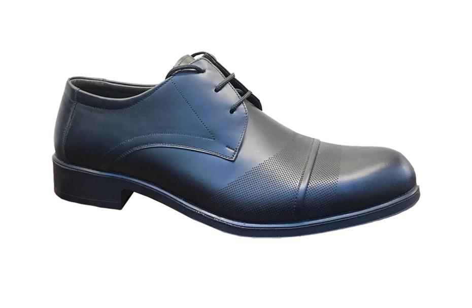 کفش مجلسی مردانه چرم طبیعی تبریز کد 207
