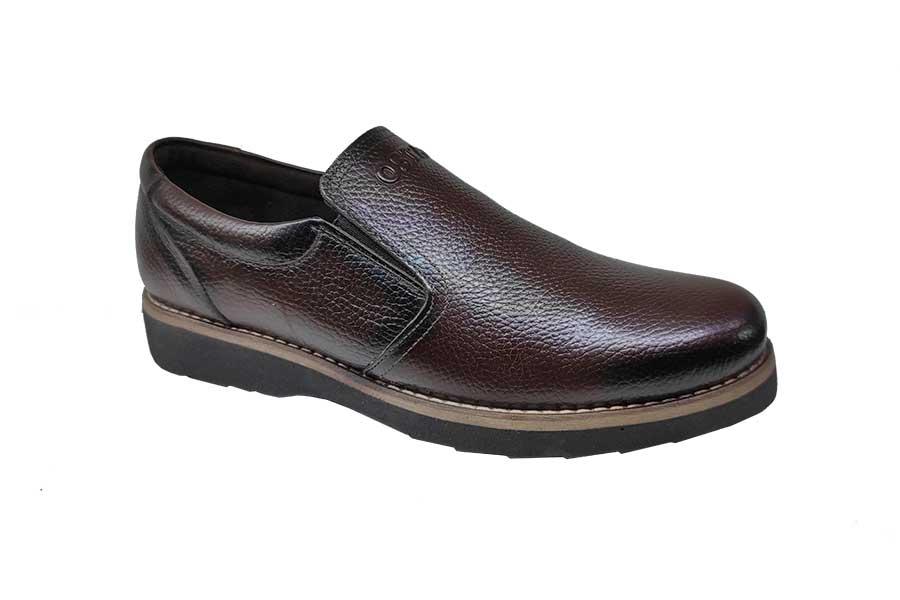 کفش مجلسی مردانه چرم  طبیعی تبریز کد 232