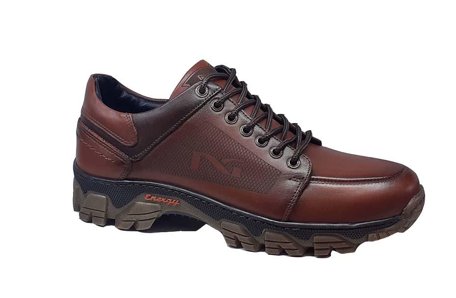 کفش اسپرت مردانه چرم طبیعی  کد 045