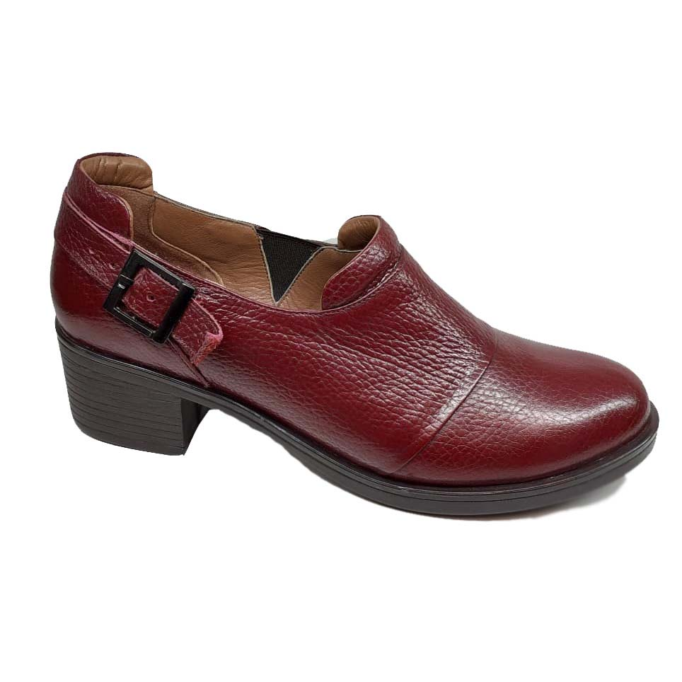کفش زنانه چرم طبیعی دست دوز تبریز کد 094