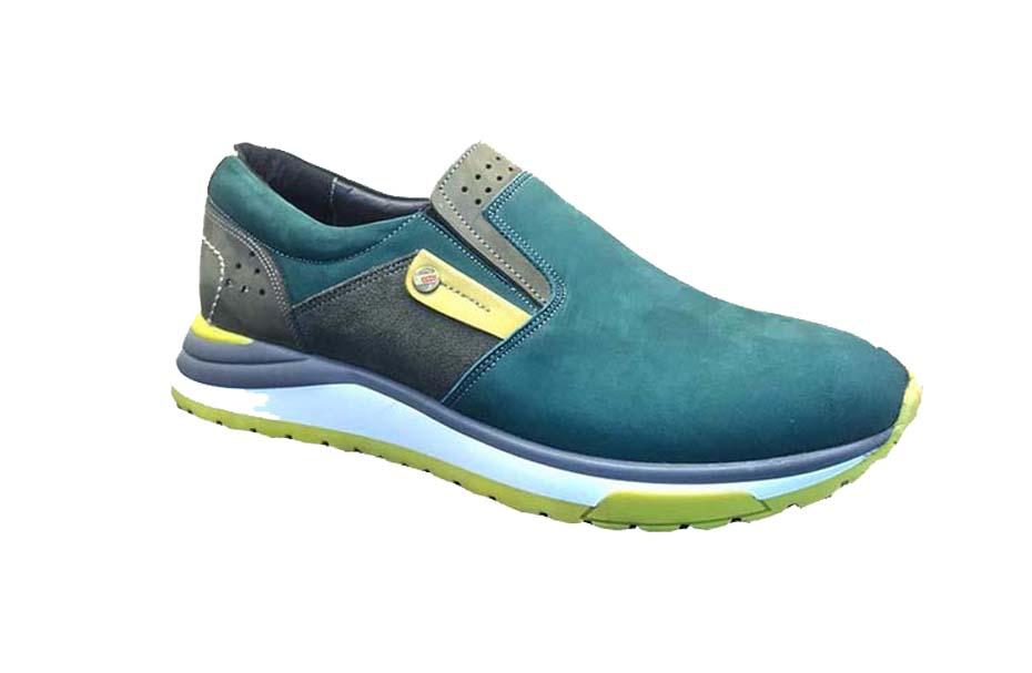 کفش اسپرت مردانه چرم طبیعی  کد 108