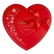شکلات کادویی قلبی فرمند