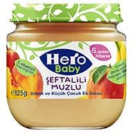 غذای مکمل کودک با طعم هلو و موز ۱۲۵ گرم