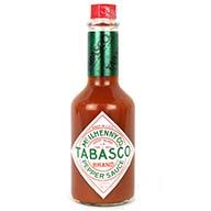 سس فلفل تند Tabasco آمریکایی اصل