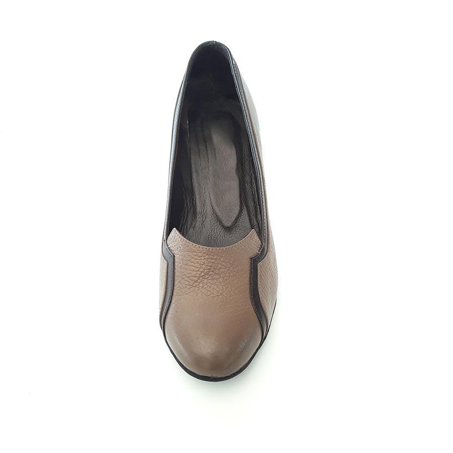 کفش زنانه چرم طبیعی دست دوز تبریزکد 206