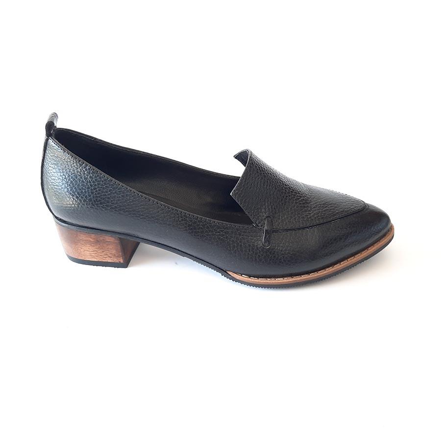 کفش زنانه مجلسی چرم طبیعی دست دوز تبریز کد 572