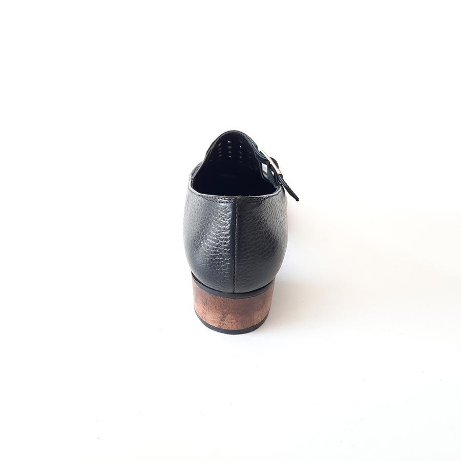 کفش زنانه  مجلسی چرم طبیعی دست دوز تبریز کد 707