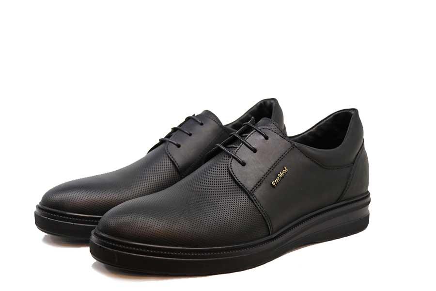 کفش چرم طبیعی مردانه مجلسی مدلFree Mood