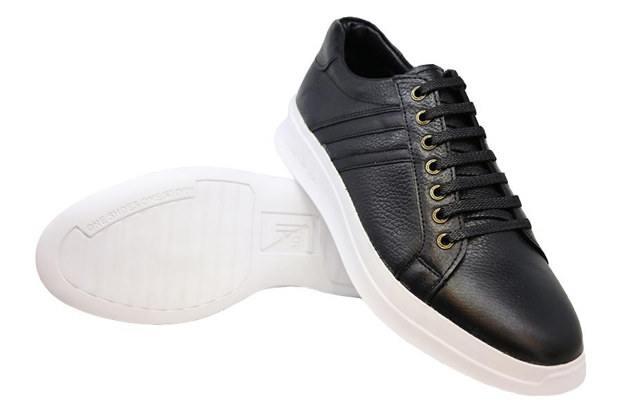 کفش چرم طبیعی مردانه اسپورت مدل Ricardo
