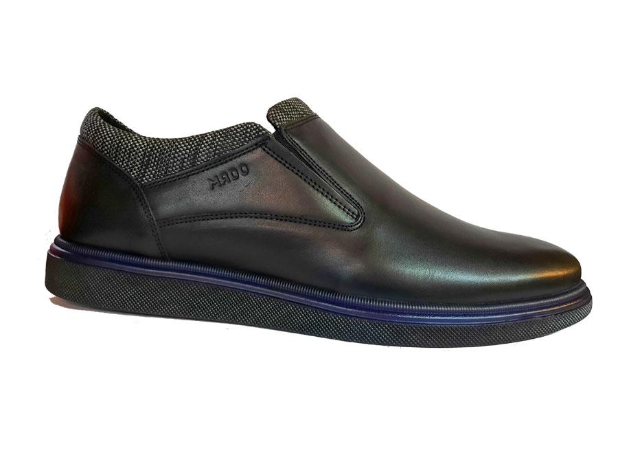 کفش چرم طبیعی مردانه پرسنلی اسپرت کلاسیک مادو