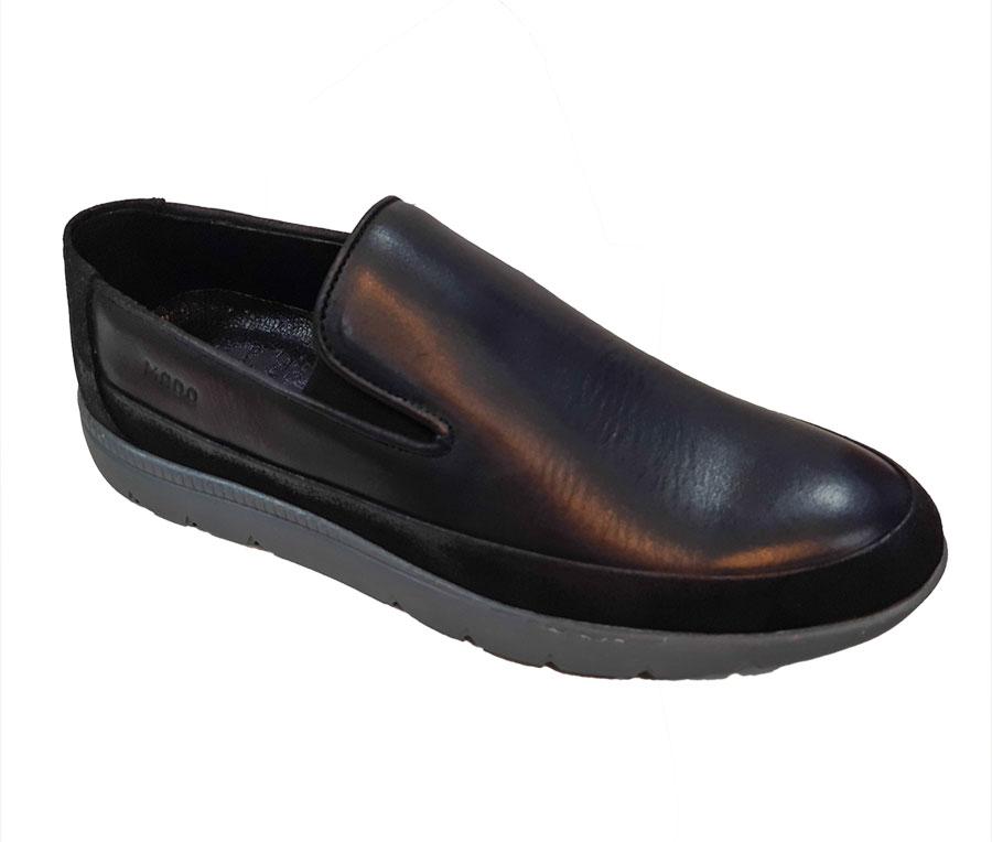 كفش چرم طبیعی مردانه اسپرت کلاسیک مادو