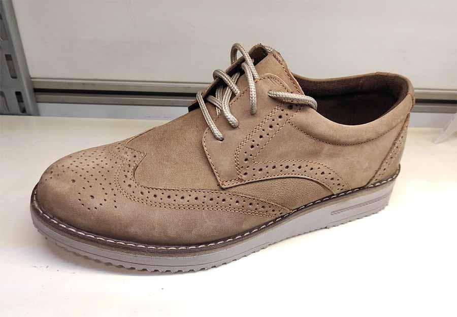 کفش مجلسی طبی راحتی مردانه چرم طبیعی تبریز کد498