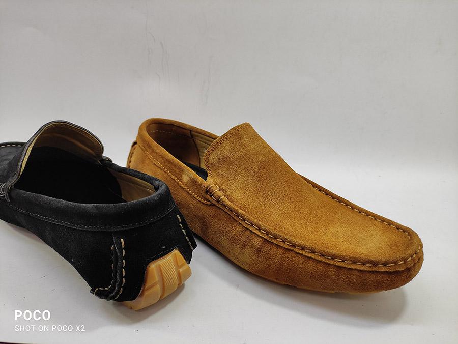 کفش کالج مردانه چرم گاوی تبریز مدل پاکتی  کد 262