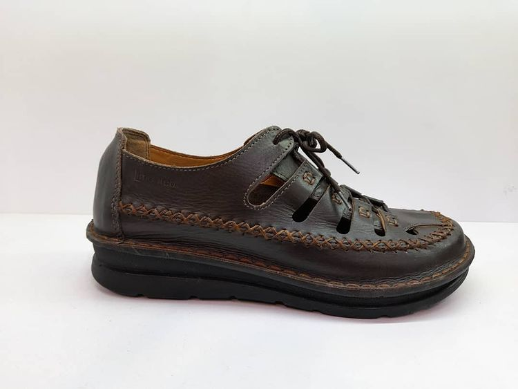 کفش تابستانی زنانه چرم طبیعی  تبریز کد 396