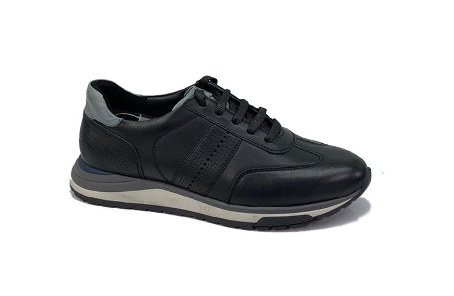 کفش اسپرت مردانه چرم طبیعی مادو تبریز  کد 211