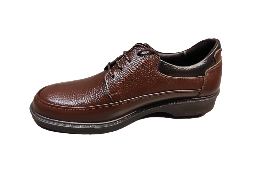 کفش راحتی مردانه چرم  طبیعی کد 299