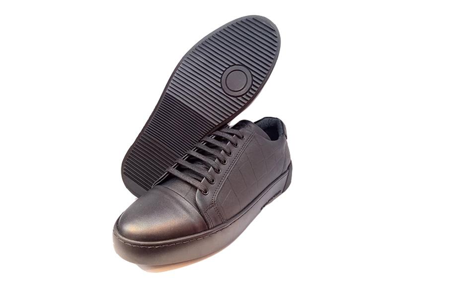 کفش کتونی مردانه تمام چرم طبیعی  تبریز کد 312