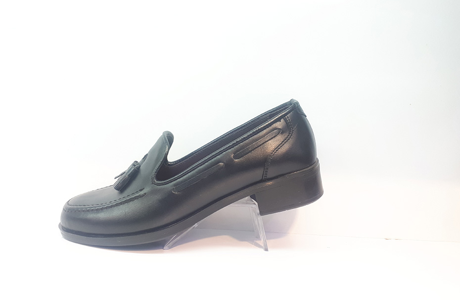 کفش کالج زنانه  چرم طبیعی دست دوز تبریز کد 343