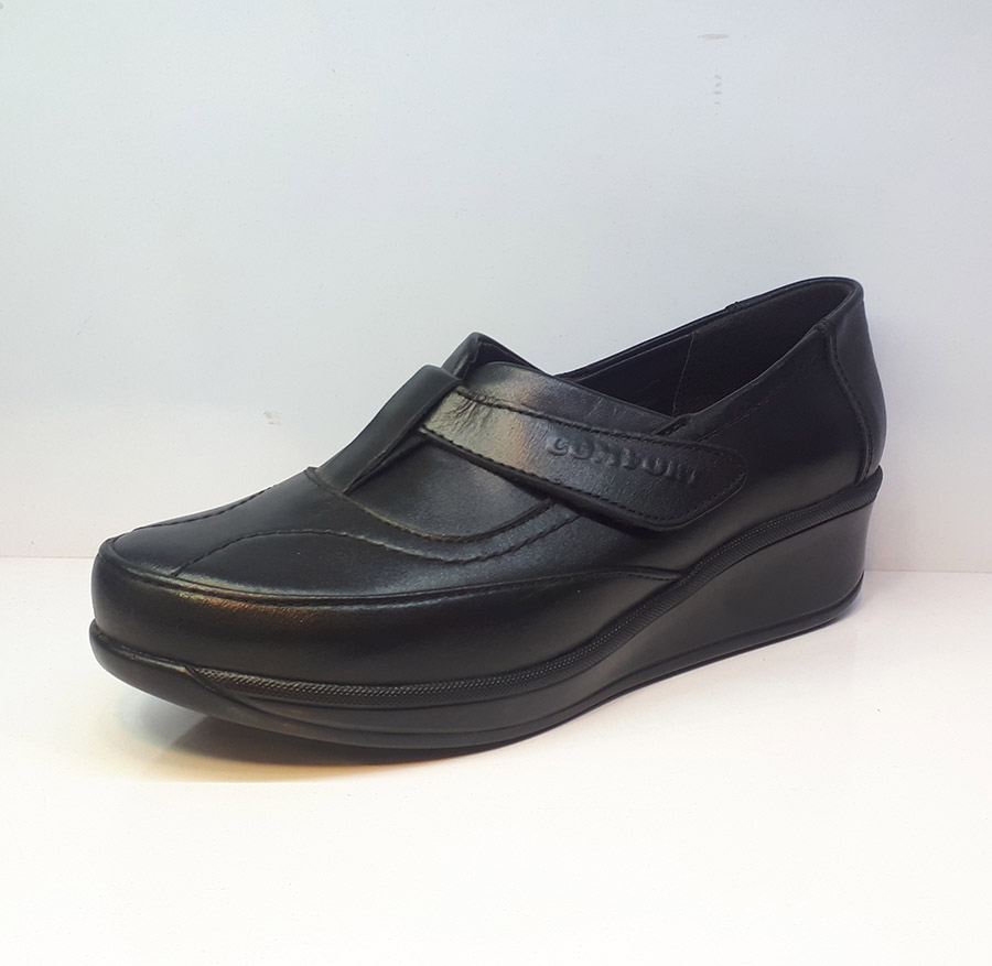 کفش طبی راحتی زنانه  چرم طبیعی دست دوز تبریز کد 349
