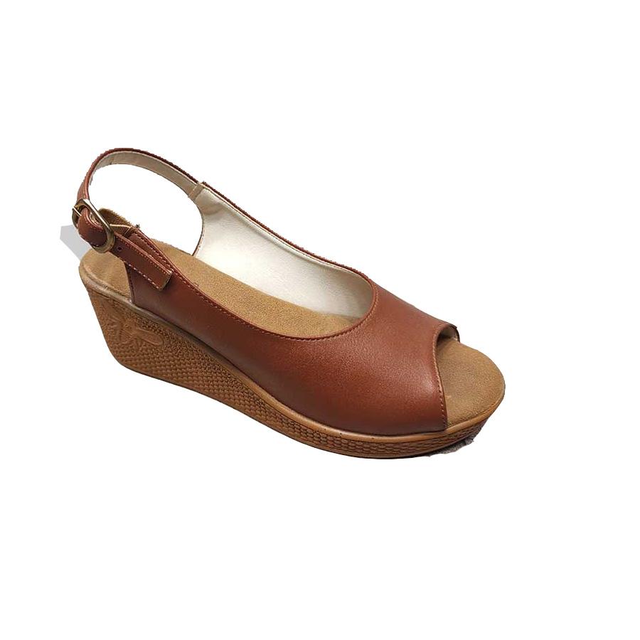 کفش تابستانی زنانه چرم مصنوعی کد 357