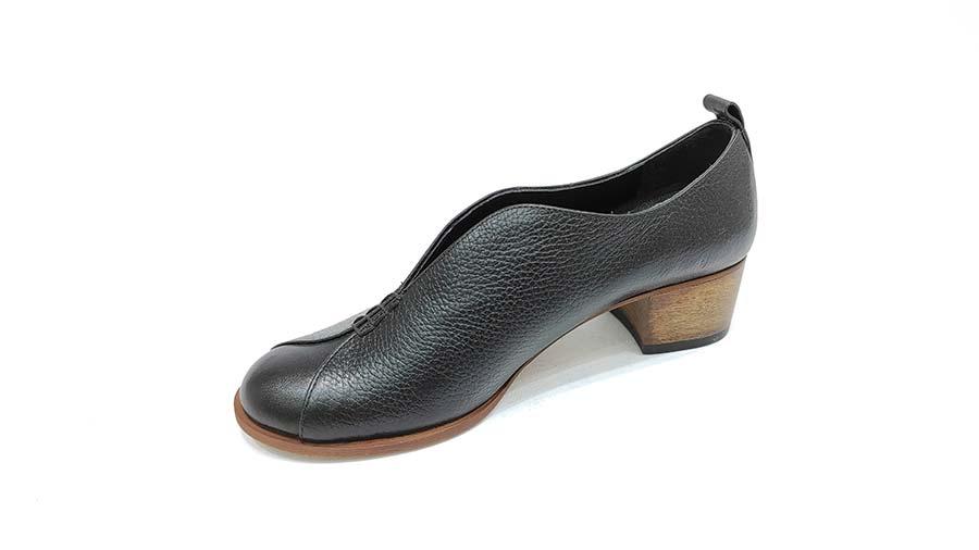 کفش مجلسی زنانه چرم طبیعی  تبریز کد 589