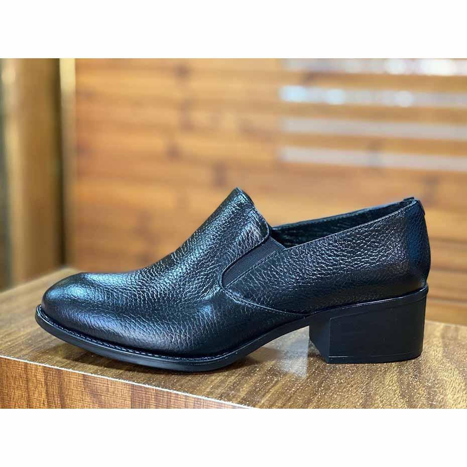 کفش مجلسی زنانه  چرم طبیعی دست دوز تبریز کد 309