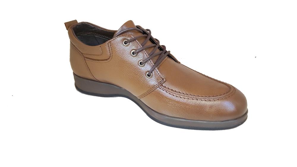 کفش مجلسی مردانه چرم طبیعی گاوی تبریز کد 284