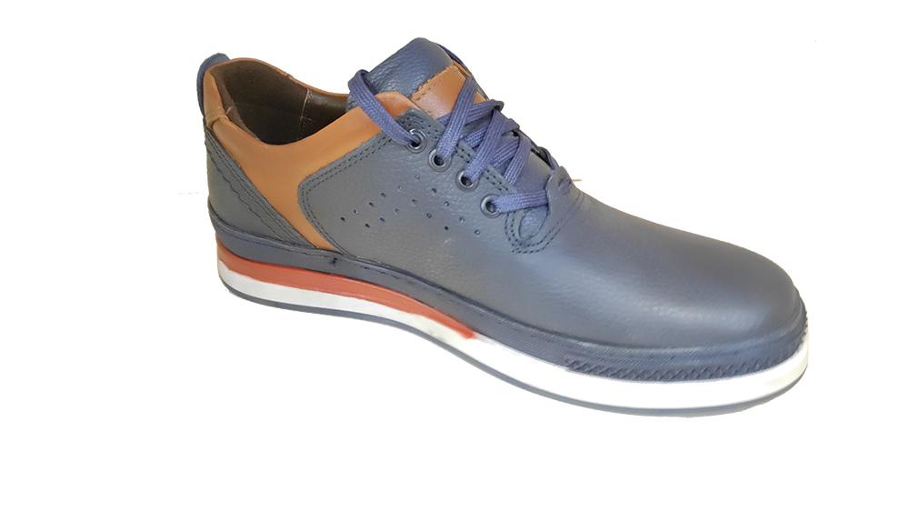 کفش راحتی مردانه چرم  طبیعی کد 292