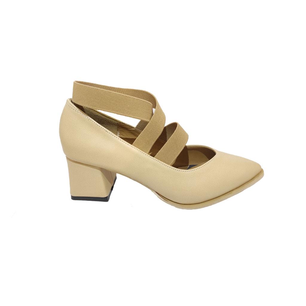 کفش زنانه مجلسی پاشنه دار مدل لورا کد 162