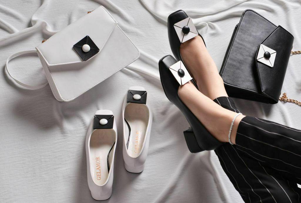 کفش زنانه كالج مدل گلدار  کد 194