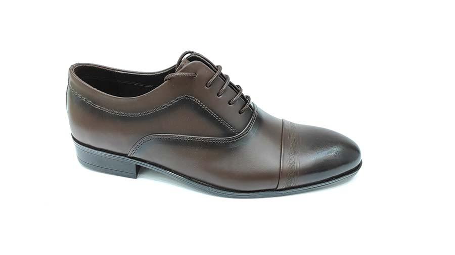 کفش مجلسی مردانه چرم طبیعی تبریز کد575