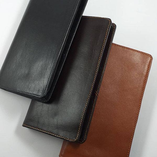 کیف پول مردانه چرم طبیعی دست دوز تبریز کد 149