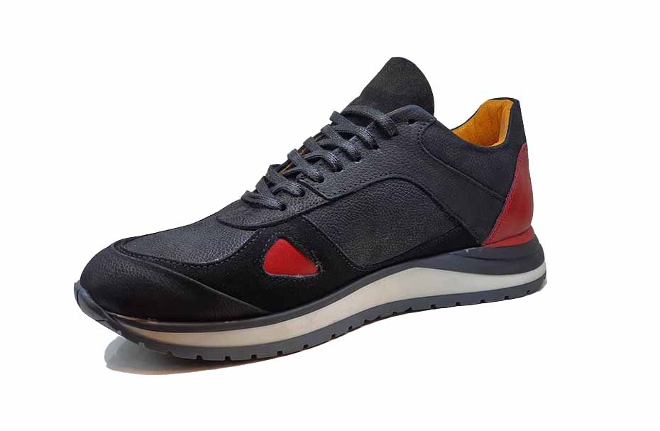 کفش اسپرت مردانه چرم طبیعی کد 025